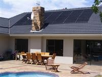 Green Solar Pool Heating Panels Project
